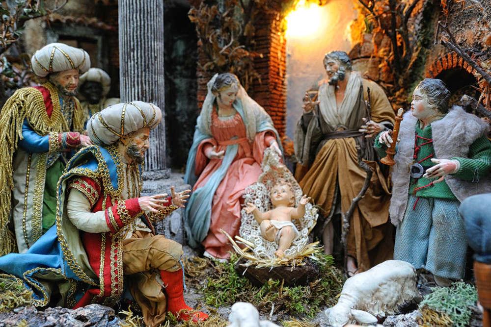 Natività San gregorio Armeno Napoli