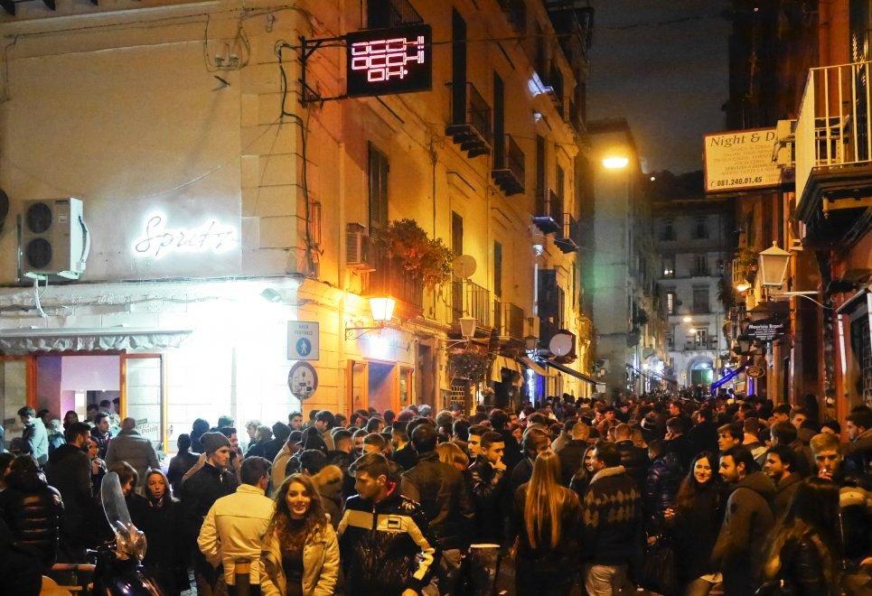 Zona Baretti Chiaia Napoli